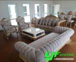 Sofa Tamu Ukir Mewah Terbaru Duco 315