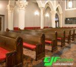 Bangku Gereja Kayu Jati Terbaru 15