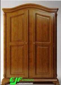 Lemari Pakaian Jati Minimalis Dua Pintu 49