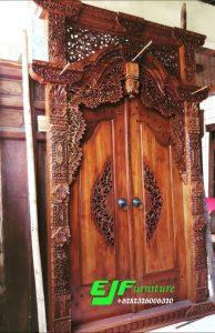 Pintu Gebyok Ukir Jepara Model Kudusan krawang