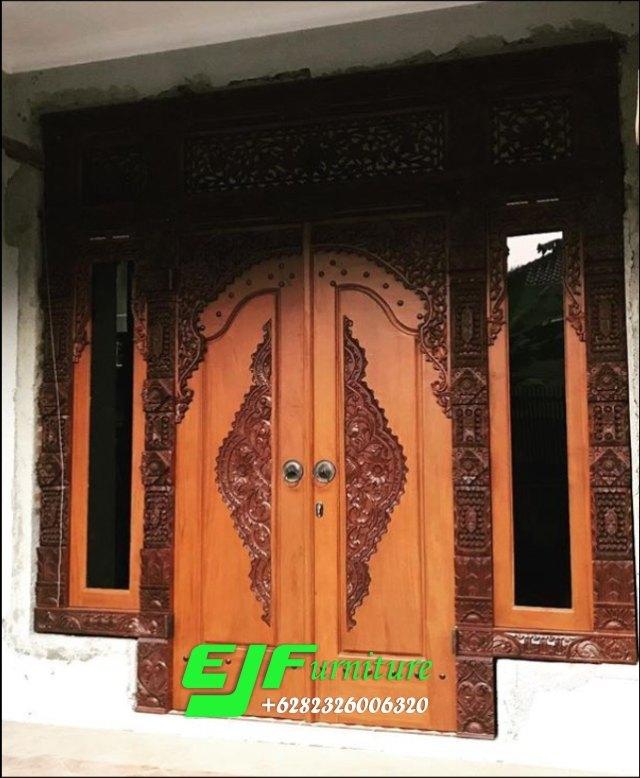 Pintu-Rumah-Gebyok-Ukir-Jepara-jendela-gendong Pintu Rumah Gebyok Ukir Jepara jendela gendong Pintu-Rumah-Gebyok-Ukir-Jepara-jendela-gendong